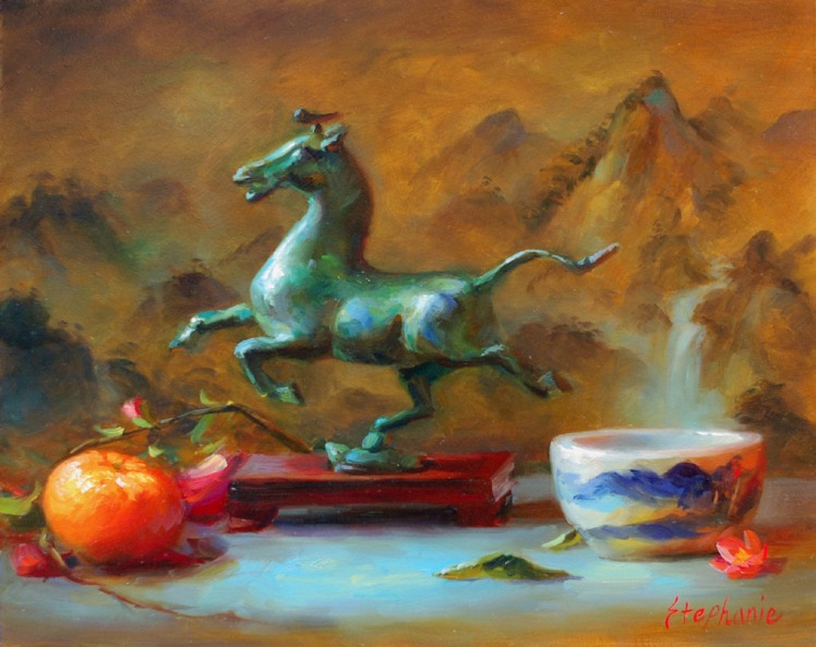 Gansu Flying Horse 8x10